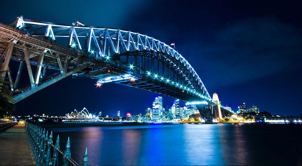 Dining on Sydney Harbour