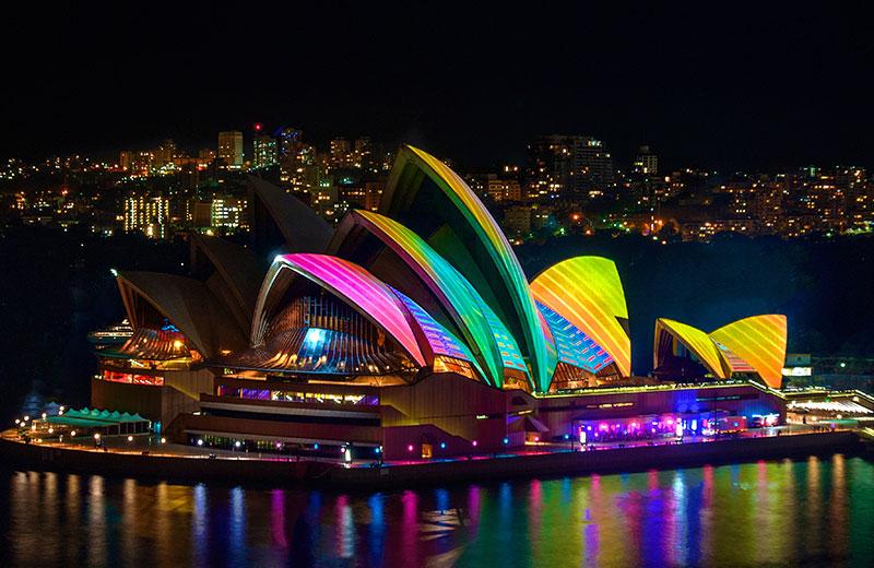 Ever-changing vistas of Sydney Harbour