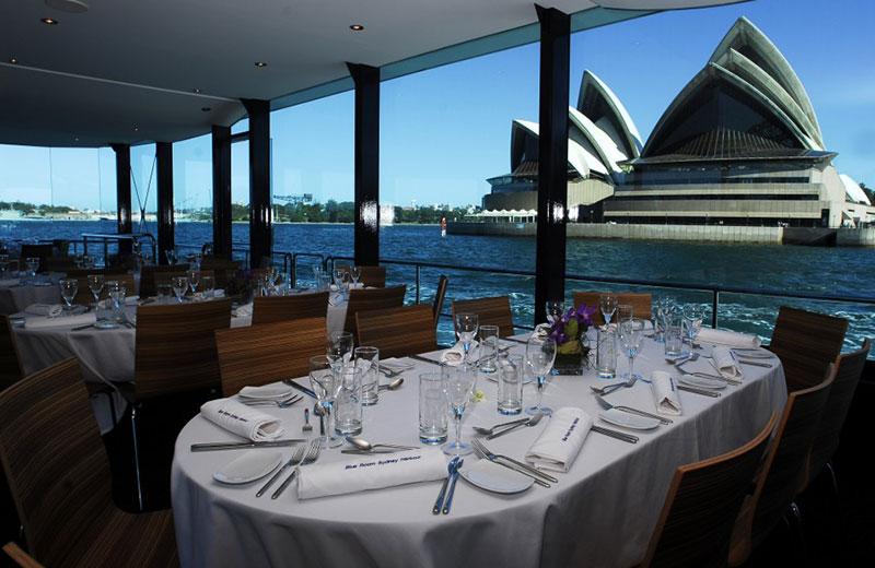 lunch luxury Sydney cruise
