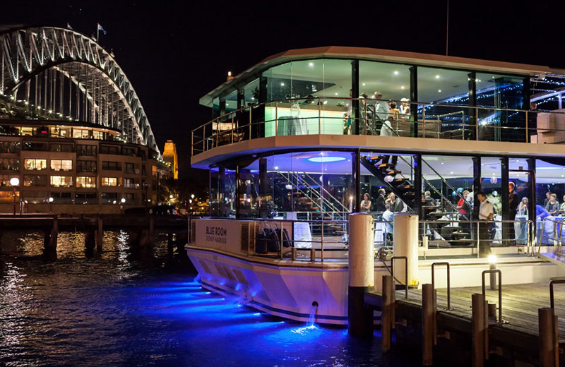 Sydney's One & Only Glass Boat Dinner Cruise