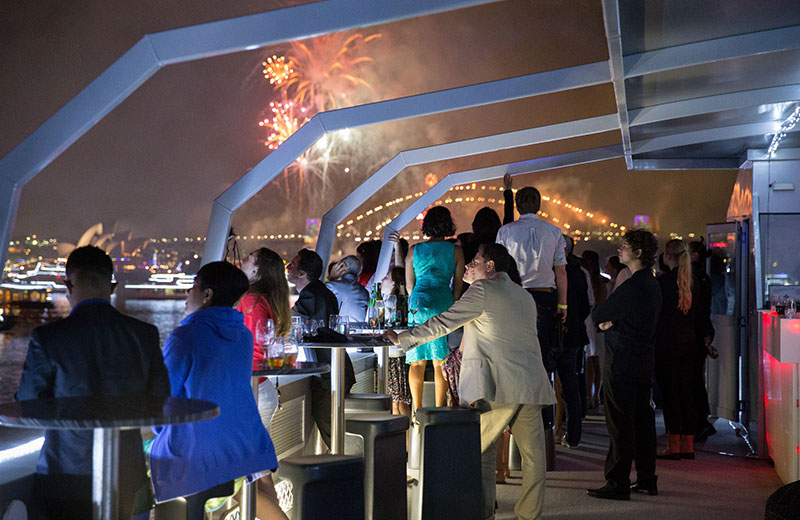 Celebrate your NYE dreams on a New Year's Eve cruise in Sydney