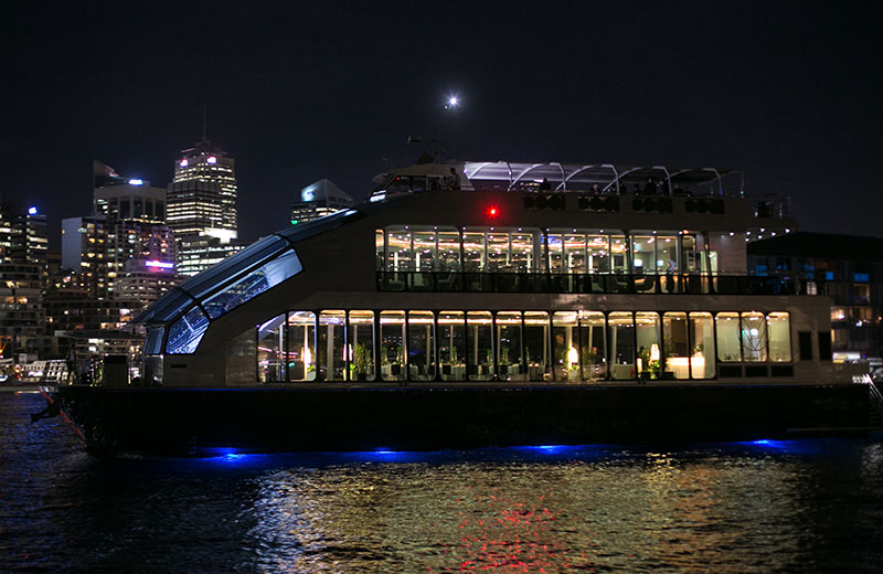 What Better Way To Explore The Sydney Harbour Other Than A Glassboat Dinner Cruise