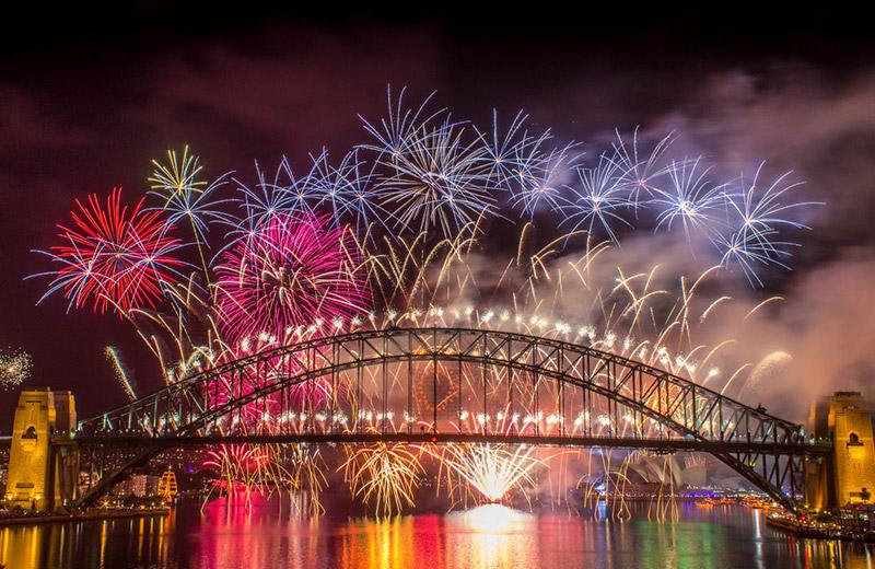 New Year's Eve cruises sydney