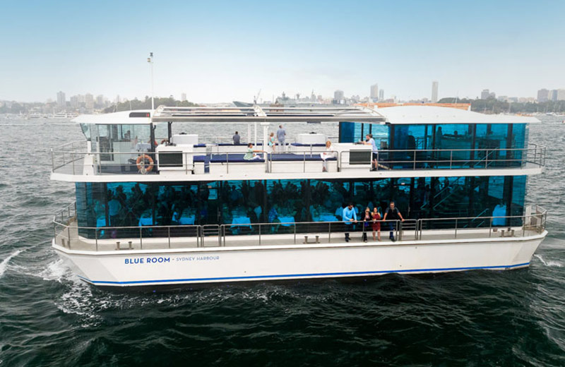 Blueroom 2hr Glassboat Express Lunch Charter Package
