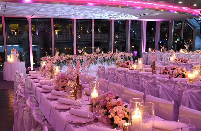 Blueroom 4hr Wedding Charter Package